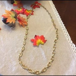 Gold tone vintage chain or belt